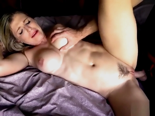 Cory Hunt in pulled to the bed Anal