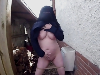 Burqa in the well forth