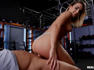 Renato - Post-workout Pov Cowgirl Panty Raid