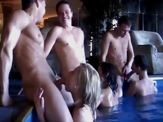 Bi Sex Pool Party