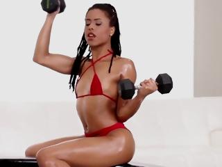 Kira Noir - Gymnastics And Sexing