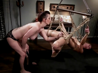 Zoe Sparx And Cherry Torn Fuck And Sweat