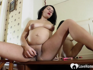 Persuasive Beauty Loves Using Her Sex Toy
