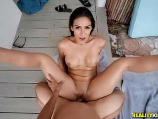 Hot Milf Katana Cheating On Her Hubby While On A Vacation. Pt.1 - Ricky Spanish
