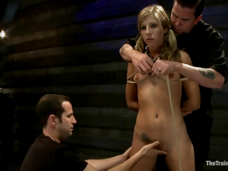 Three Masters Fucks A Slave From Both Ends In A Torture Room. 1080p Hd All over Abstinence Lynn