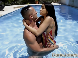 Steamy Poolside Holiday Romance With With Julia De Lucia And Dane Jones